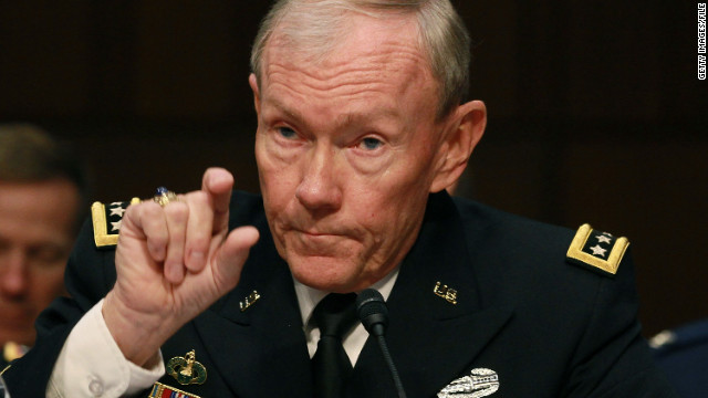 U.S. Army Gen. Martin Dempsey, chairman of the Joint Chiefs of Staff, speaks on Capitol Hill in November.
