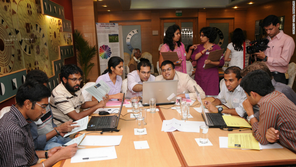 The Next Generation Infrastructure Lab in Bangalore has been holding gaming workshops where simulations allow planners to see how  different energy choices, such as using of solar power over coal or oil, could play out in the future.