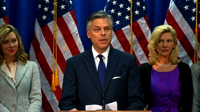 Jon Huntsman suspends Presidential campaign