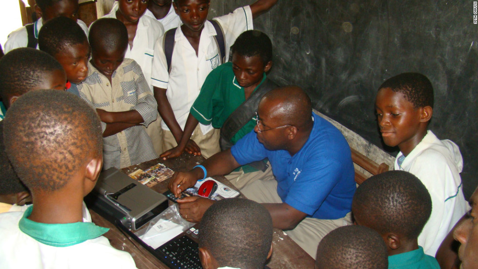 Seth Owusu founded the Entire Village Computers Organization (EVCO) in 2004 in a bid to improve computer literacy in his native Ghana and other African countries.