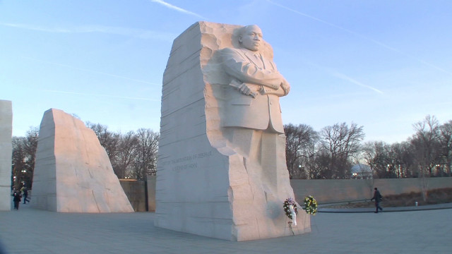Memorial sees first MLK Day