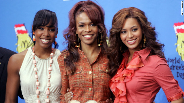 Kelly Rowland, Michelle Williams and Beyoncé Knowles of Destiny's Child shown here in 2005.