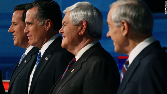Republicans differed sharply on many issues in Monday's South Carolina debate.