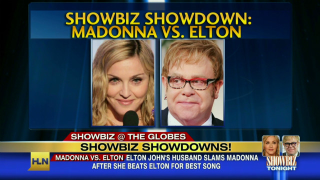Bad blood between Elton John, Madonna
