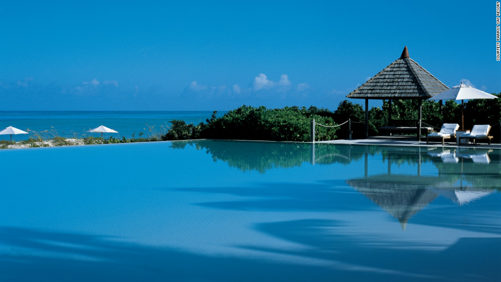 The resort is known for its soft white sand beach and first-class spa.