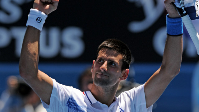 Serbia's Novak Djokovic won three out of four grand slams in 2011, including the Australian Open.