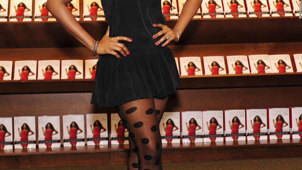 Jennifer Hudson promotes her new book in Chicago.