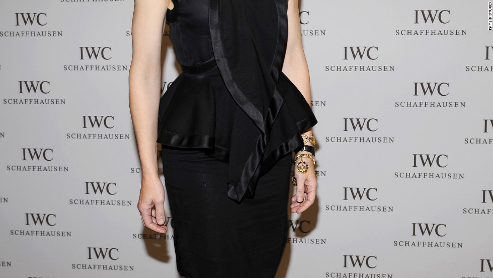 Cate Blanchett attends an IWC event in Germany.