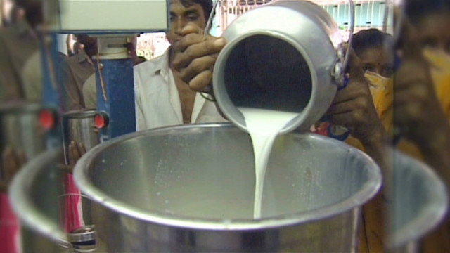 Study: Indian milk tainted with chemicals