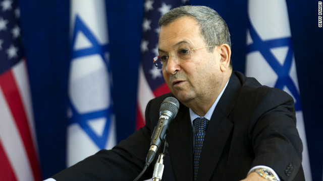 Israel's Defense Minister Ehud Barak said sanctions would force Iran to come to the negotiating table.