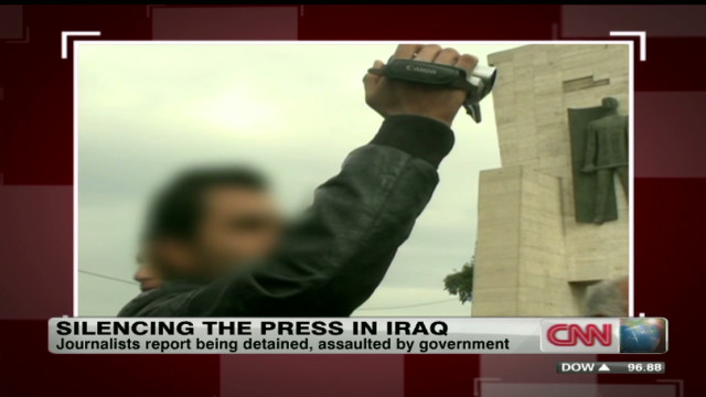Iraq crackdown on the press