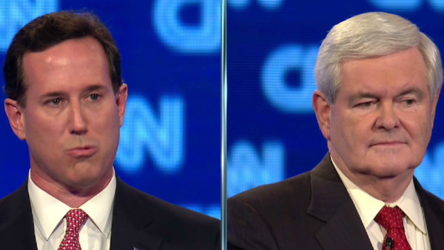 Santorum criticizes Gingrich's record