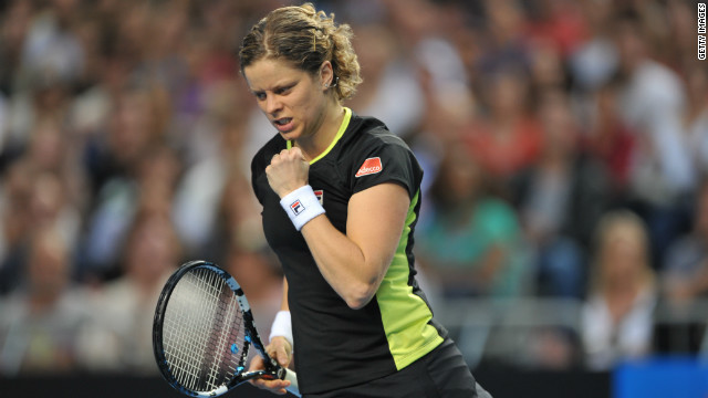 Belgian 11th seed Kim Clijsters is seeking to defend her  Australian Open title.