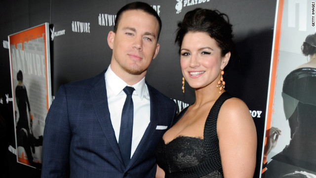 """I'd probably want to choke him out real quick,"" Gina Carano said about her ""Haywire"" co-star Channing Tatum."
