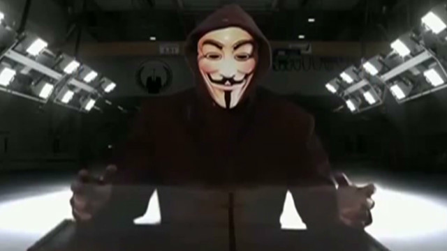 'Hacktivist' group Anonymous strikes back