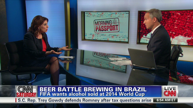 FIFA in Brazil beer feud