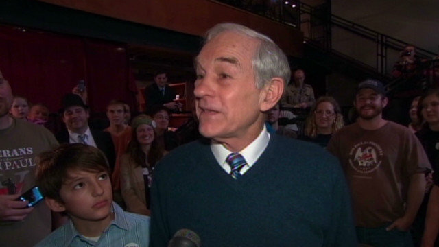 Ron Paul: 'We'll continue momentum'