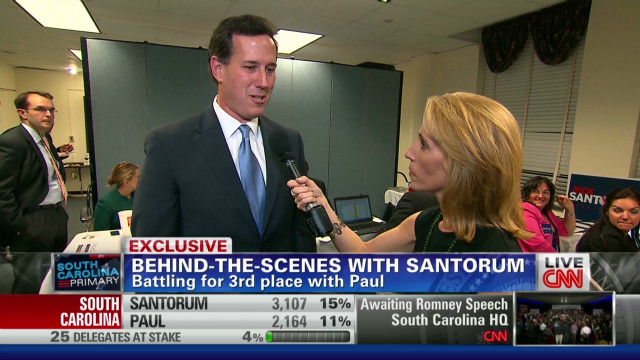 Inside Santorum's S.C. 'war room'