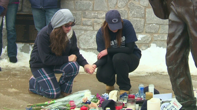 Paterno mourner: He's more than a coach