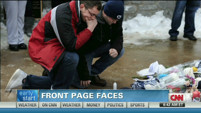 Community grieves Paterno's passing