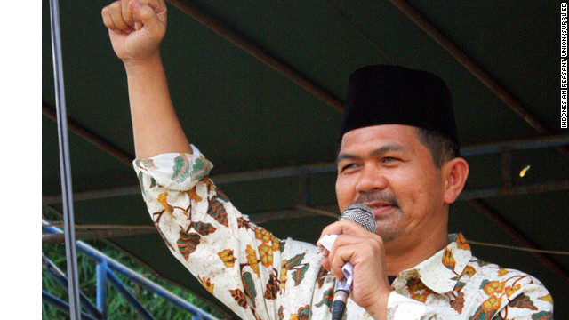 Henry Saragih, secretary general of the Indonesian Peasant Union