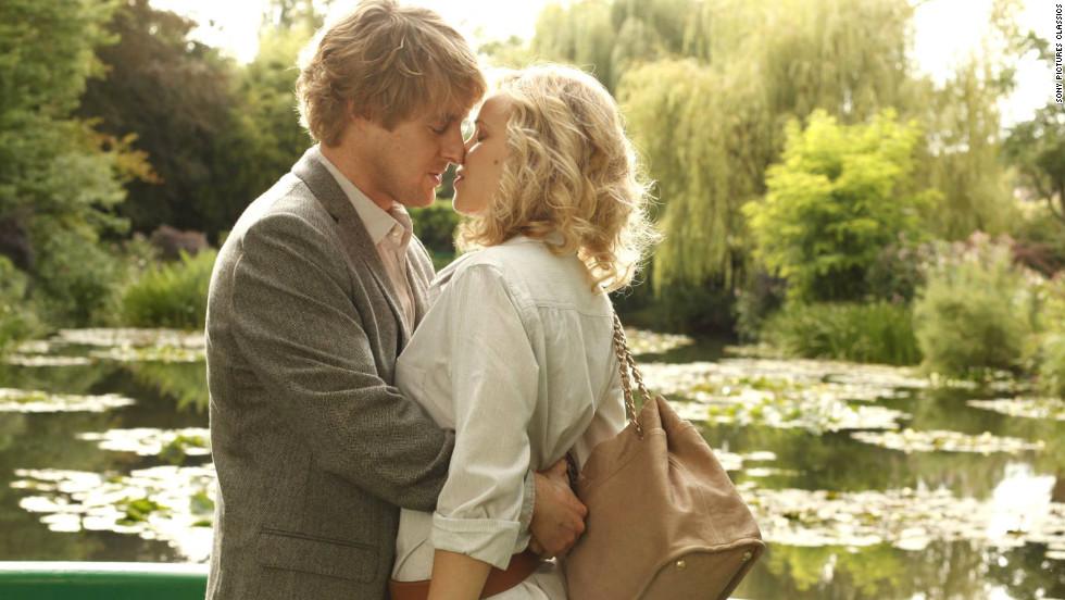 "Woody Allen's ""Midnight in Paris"" stars Owen Wilson and Rachel McAdams as an engaged couple whose relationship is tested in the romantic City of Light."