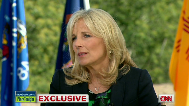 piers morgan jill biden on her son fighting in Iraq_00003909