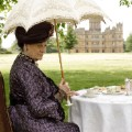downton abbey outdoor tea