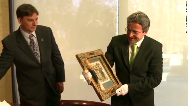 Stolen painting returned after 30 years