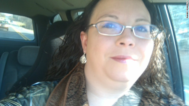 Ranee Roberts, 34, survived a tornado that directly hit her Alabama business.