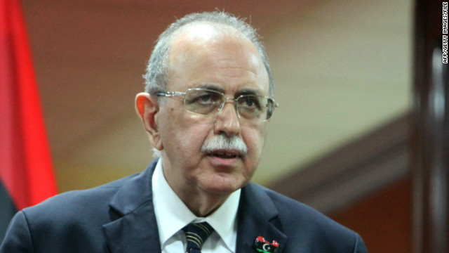 Interim Prime Minister Abderrahim el-Keib said Wednesday that a plan was in progress to take over prisons partially.