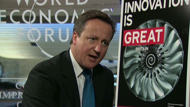Cameron: 'Challenging economic times'
