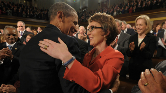 Obama: Giffords looked gorgeous