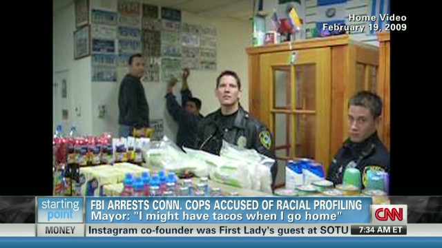 Cops accused of racial profiling