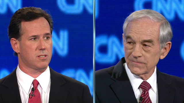 Paul, Santorum debate Cuban actions