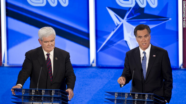 William Bennett says Mitt Romney went on the offensive against Newt Gingrich early Thursday night.