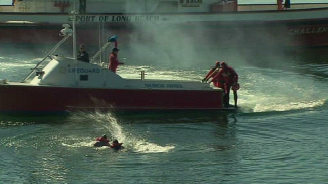 Training for maritime disasters