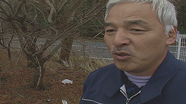 Japan exclusion zone's lone resident