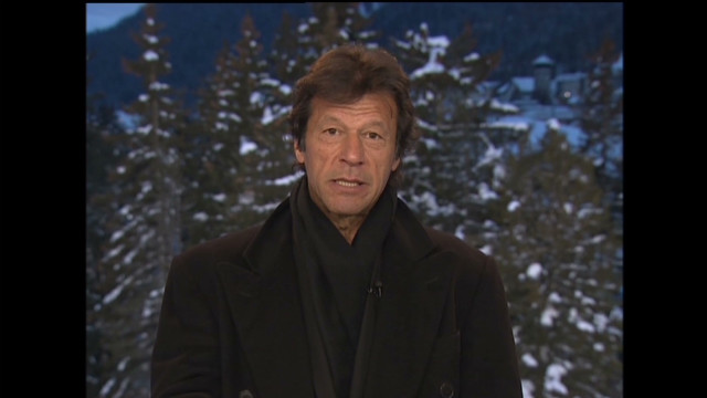 Imran Khan talks to CNN