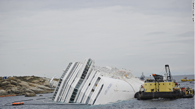 Twenty-five people are confirmed dead and seven are still missing after the Costa Concordia disaster.