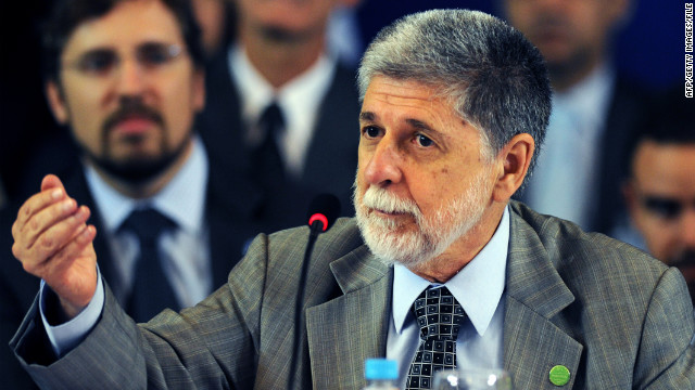 People used to leave Brazil for a better life, Brazilian Defense Minister Celso Amorim says, but now the tide has turned.
