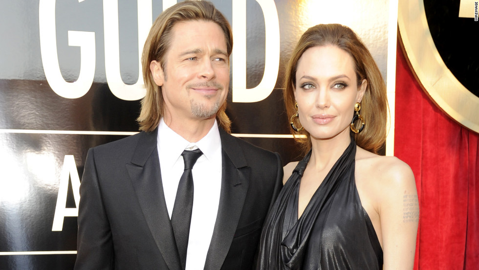 brad pitt angelina jolie sag fashion