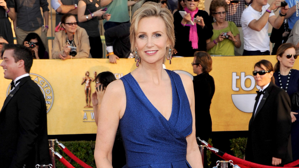 jane lynch sag fashion