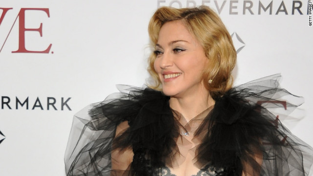 Madonna will premiere the video for the first single from her new album MDNA on Thursday.
