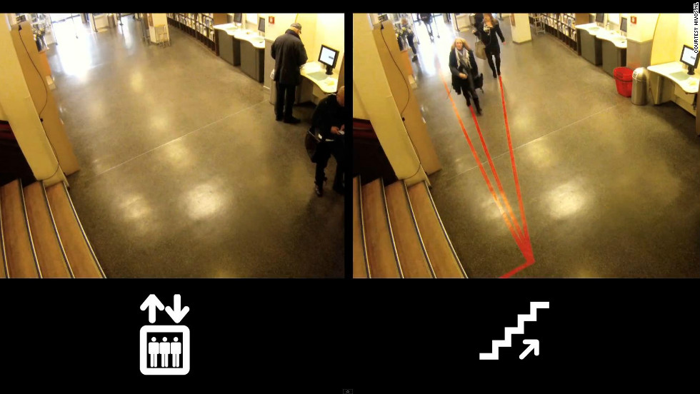 A recent Dutch study showed that 70% more people chose the stairs instead of the elevator when there were red lines running up them.