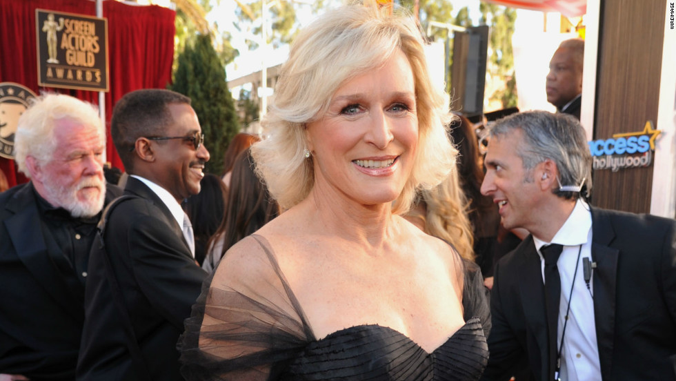 glenn close sag fashion