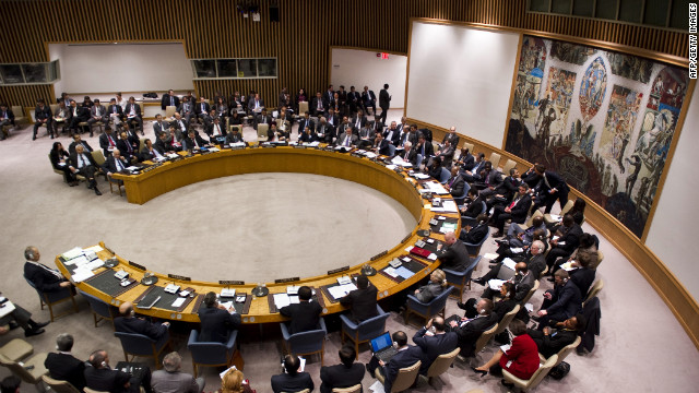 The U.N. Security Council meets Tuesday to consider a resolution to stop the violence in Syria.