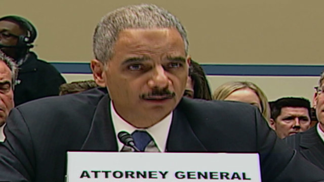 Holder, GOP fight over 'Fast & Furious'