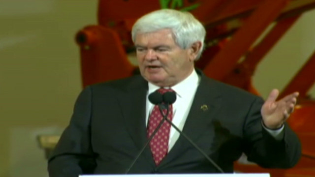 Gingrich: Poor should be able to work