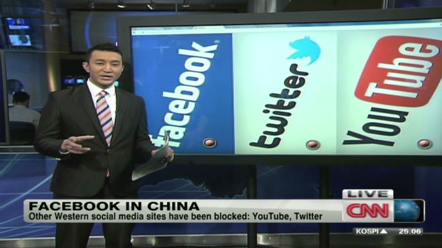 Facebook blocked in China